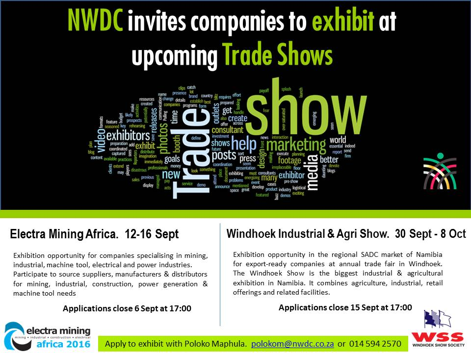 Exhibit at Electra Mining Africa & Windhoek Show_Sept 2016